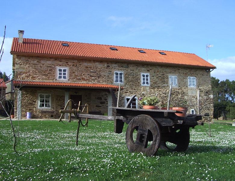 Casa de turismo rural pedra da arca en cerqueda malpica - Casas rurales de galicia ...